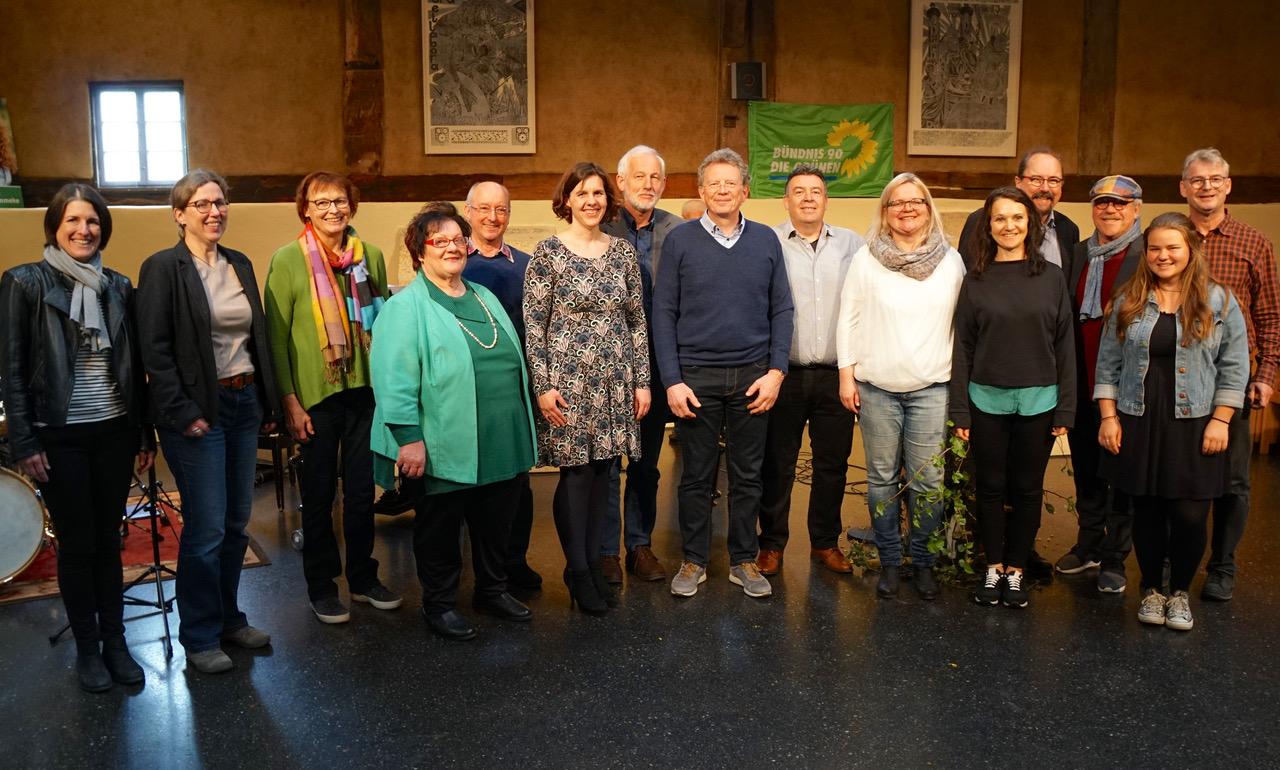 Die Grünen Website Kommunalpolitischer Brunch im Bindhof Kandidaten 2019